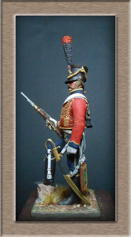 Vitrine Alain 2  Chevau-léger Polonais de la Garde 1810 MM 54 mm ) - Page 2 Dscn7017