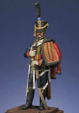 Hussard du 6ème Rgt 1809 MM54mm H4110
