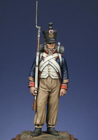 Grenadier du 15e régiment infanterie de la ligne Espagne 1807 Sfu110