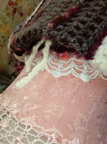 Robe Tissu en Soie Sauvage Saumonée , trés Couture pour événement d'exception ! Img_2158
