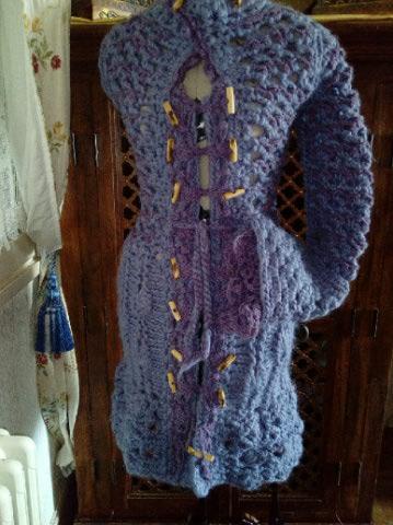 3ème : Costume Robe-Manteau en Trés Grosse Laine style Bleu Médiéval  Img_2176