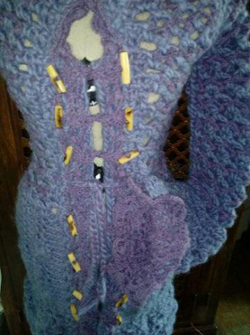 3ème : Costume Robe-Manteau en Trés Grosse Laine style Bleu Médiéval  Img_2177