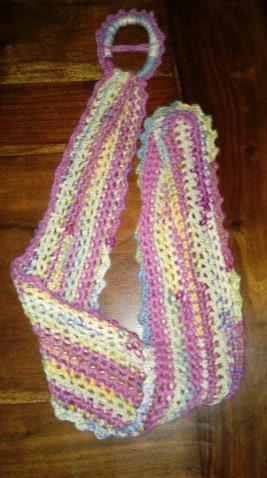 Le TISSAGE : 1ère Petite Veste LAINE & LIN avec partie Crochet  Img_2228