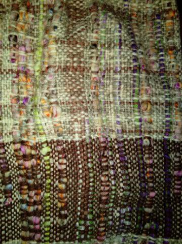 Le TISSAGE : 2ème Robe-Manteau avec Châle au Crochet  Img_2244