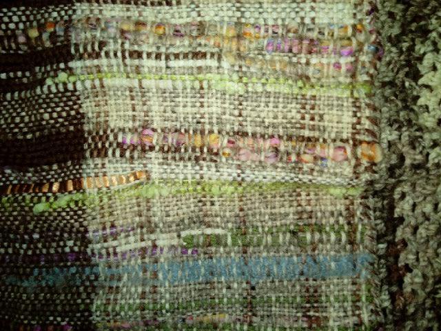 Le TISSAGE : 2ème Robe-Manteau avec Châle au Crochet  Img_2245