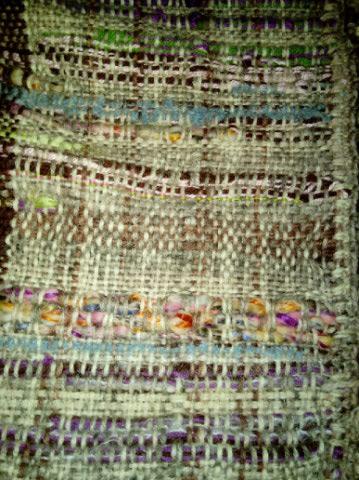 Le TISSAGE : 2ème Robe-Manteau avec Châle au Crochet  Img_2248