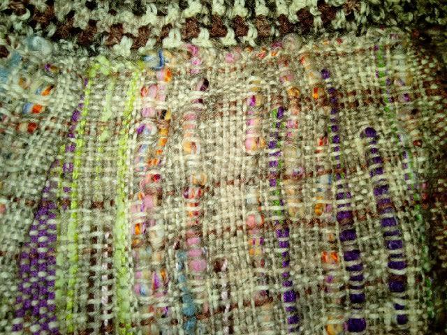 Le TISSAGE : 2ème Robe-Manteau avec Châle au Crochet  Img_2251