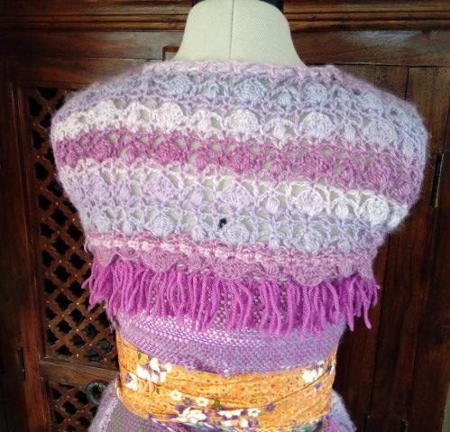 Le TISSAGE : 4ème Robe en LAINE avec partie au Crochet  Img_2270
