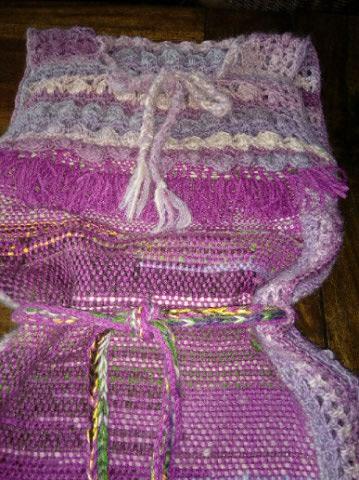 Le TISSAGE : 4ème Robe en LAINE avec partie au Crochet  Img_2271
