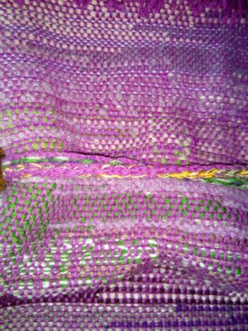 Le TISSAGE : 4ème Robe en LAINE avec partie au Crochet  Img_2272