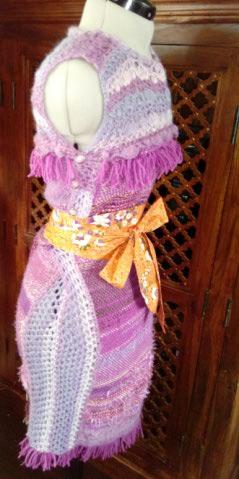 Le TISSAGE : 4ème Robe en LAINE avec partie au Crochet  Img_2273