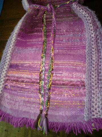 Le TISSAGE : 4ème Robe en LAINE avec partie au Crochet  Img_2277