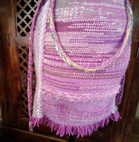Le TISSAGE : 4ème Robe en LAINE avec partie au Crochet  Img_2278