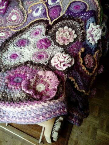Le TISSAGE : 4ème Robe en LAINE avec partie au Crochet  Img_2280