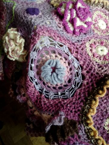 Le TISSAGE : 4ème Robe en LAINE avec partie au Crochet  Img_2290