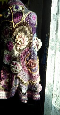 Le TISSAGE : 4ème Robe en LAINE avec partie au Crochet  Img_2294