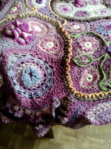 Le TISSAGE : 4ème Robe en LAINE avec partie au Crochet  Img_2296