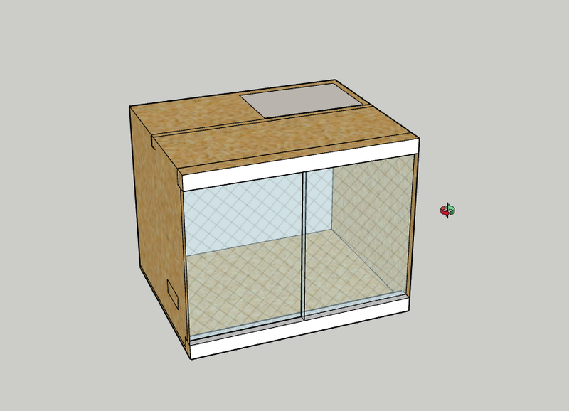 Construction  d'un terrarium pour mon gecko - Page 2 Terra10