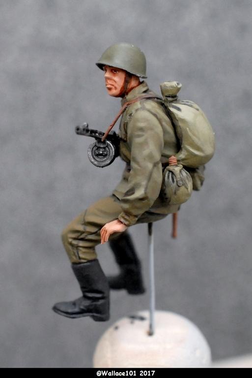 Soviet soldiers riders Miniart 1/35  terminées Dsc_0711