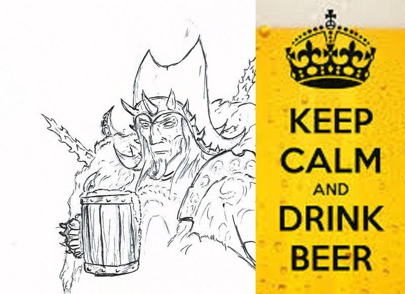 Les dessins de Gromdal - Page 10 Beer210