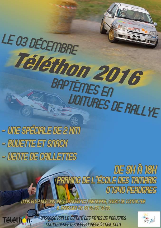 Téléthon 2016 Peaugr10