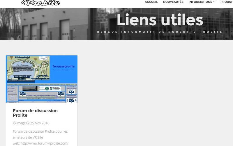 Lien du forum sur le site de Prolite.ca Captur10