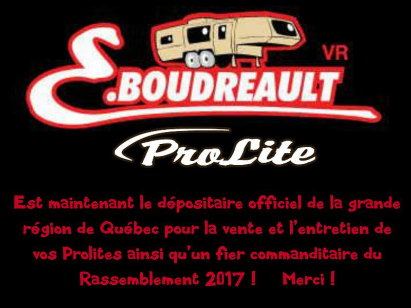 E.Boudreault VR, nouveau dépositaire Prolite à Québec Eboudr12