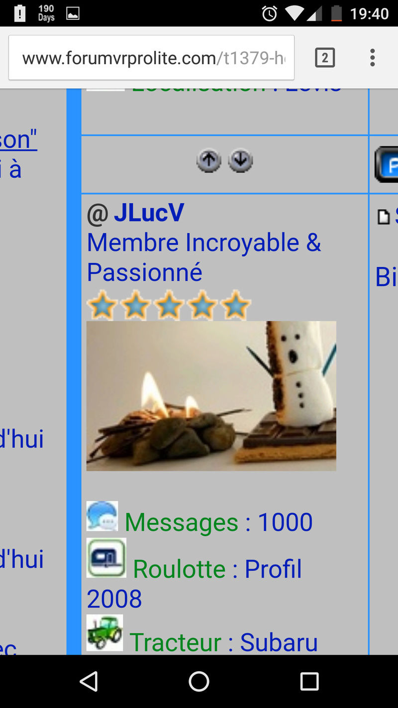 Félicitations à JLucV Screen10