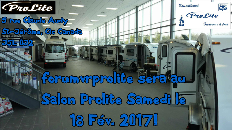 SALON DU VR PROLITE ST-JÉRÔME - 16 AU 19 FÉVRIER 2017 Www_ki14
