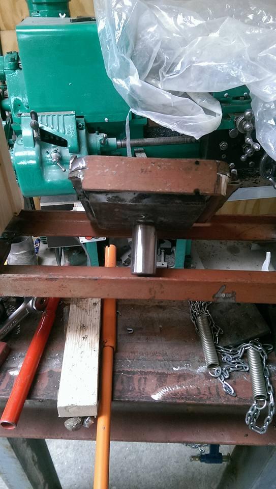 presse hydraulique sur base cric bouteille 30t 1010