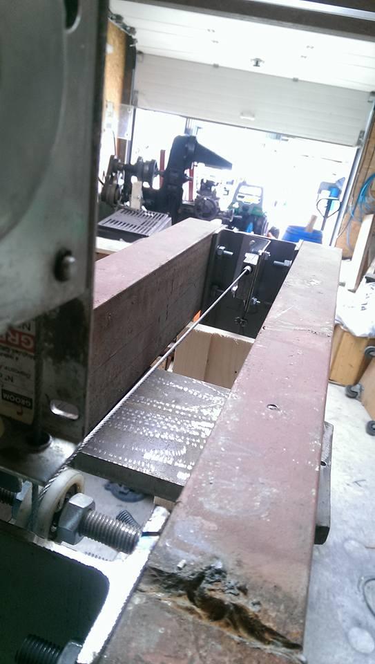 presse hydraulique sur base cric bouteille 30t 1510
