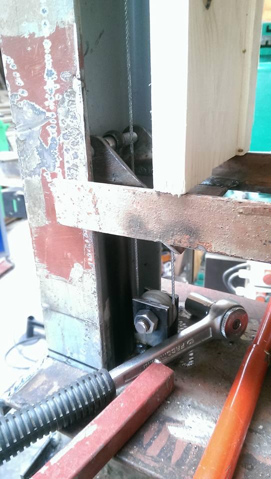 presse hydraulique sur base cric bouteille 30t 1710