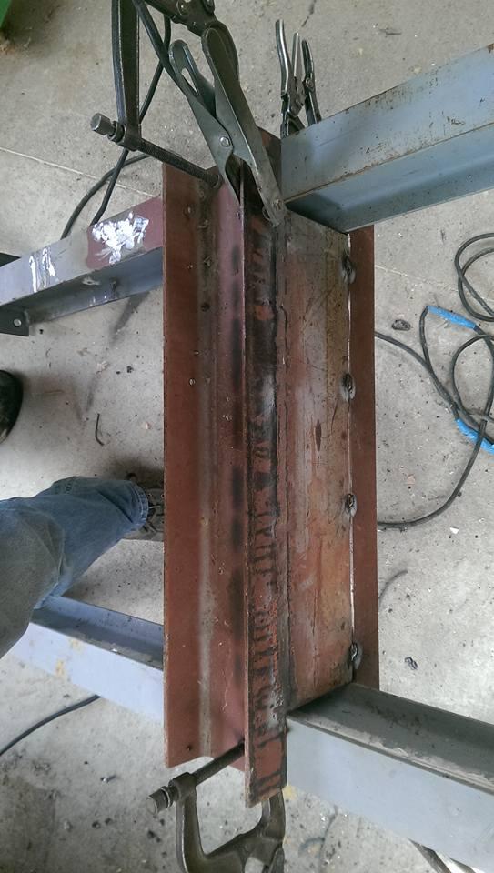 presse hydraulique sur base cric bouteille 30t 410