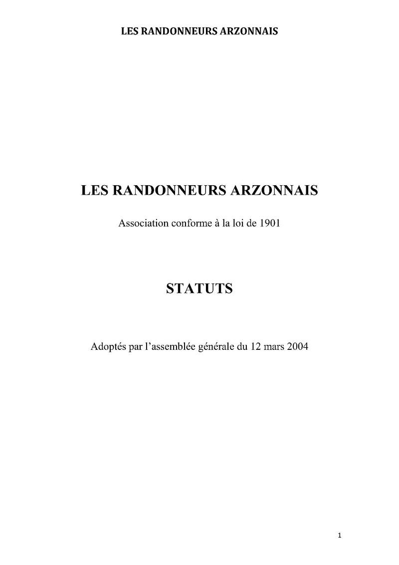 Statuts Statut10