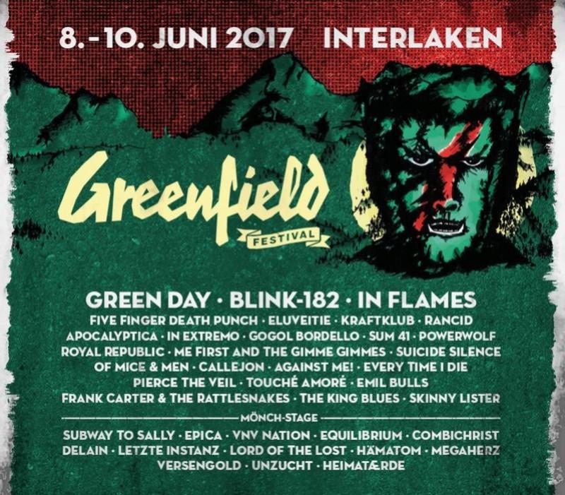 Greenfield Festival - 08 au 10 juin 2017 - Interlaken 16003110