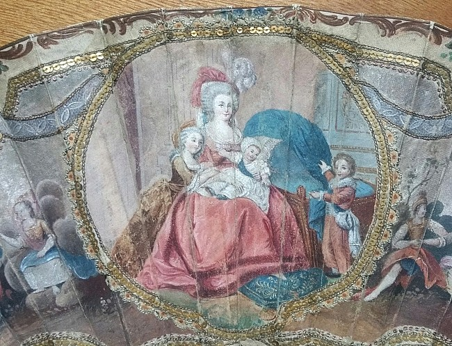 Déclinaisons faites d'après le portrait de Marie Antoinette et ses enfants de Vigée Lebrun Eventa11