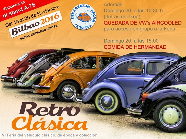 Retro Clásica Bilbao (18-19-20 Nov 2016) Cartel10