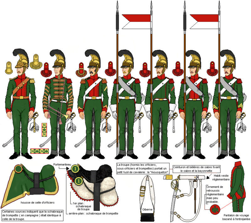 1er Chevau-Légers Lanciers de la ligne en 1815 au 1/72 Lancie11