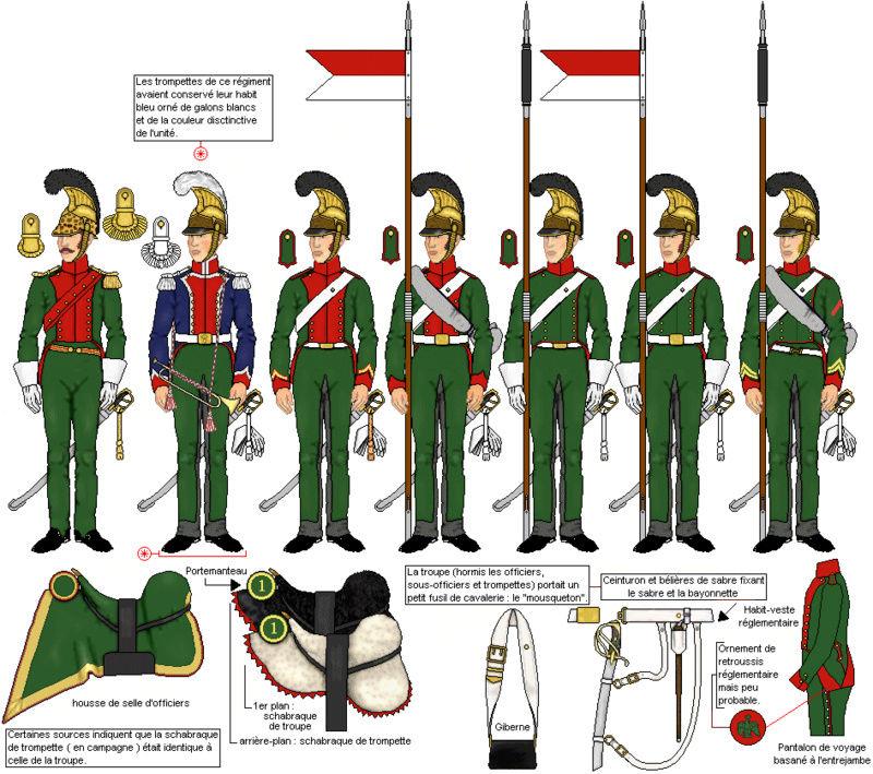 1er Chevau-Légers Lanciers de la ligne en 1815 au 1/72 Lancie12