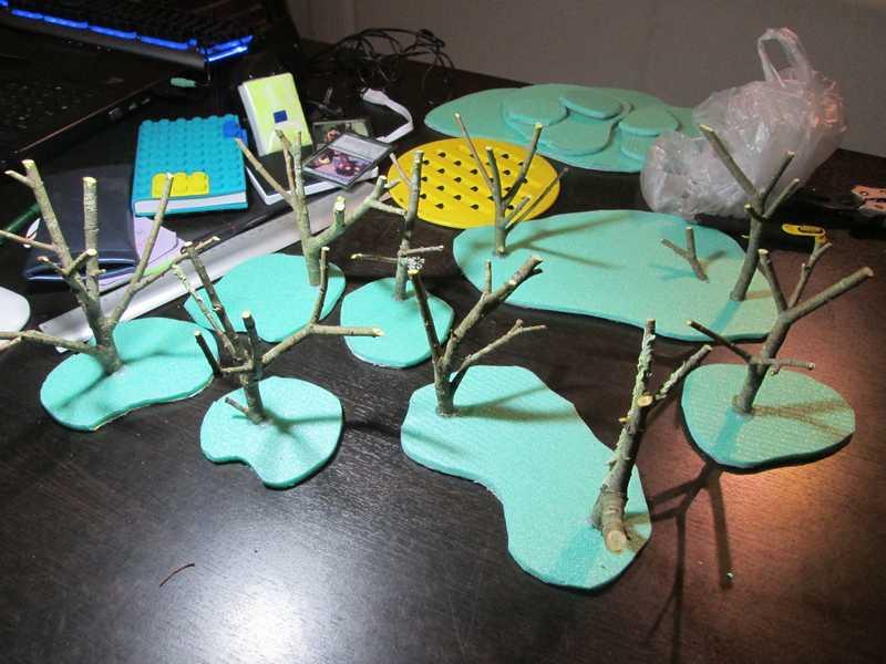 """Différents décors, figurines et accessoires pour """"Congo"""" ! Arbre_15"""