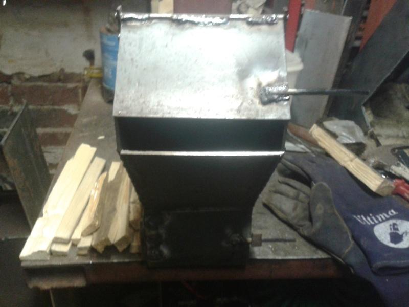 portable rocket stove  20161116