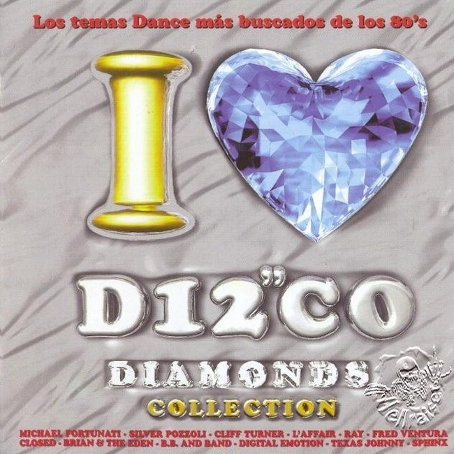 I Love Disco Diamonds (VOL.1 a 50){FLAC} Front15
