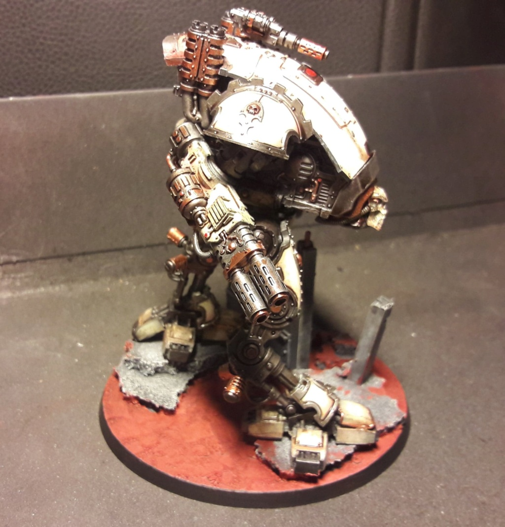[FINI] (Wedge / Freelancer mechanicus)  duo Armiger warglaive   354 pts 50797010