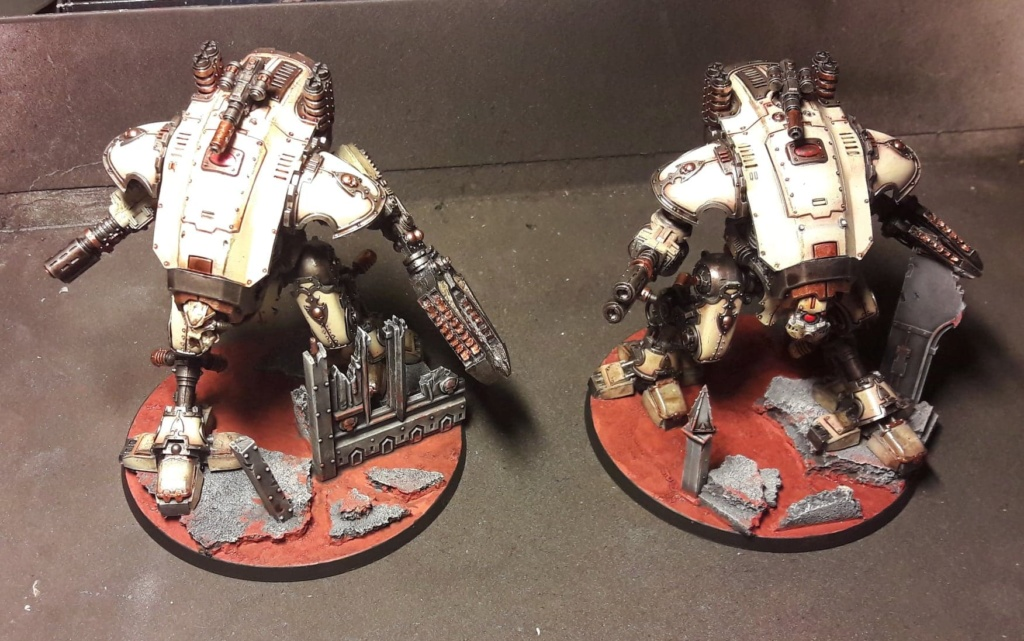 [FINI] (Wedge / Freelancer mechanicus)  duo Armiger warglaive   354 pts 50829510