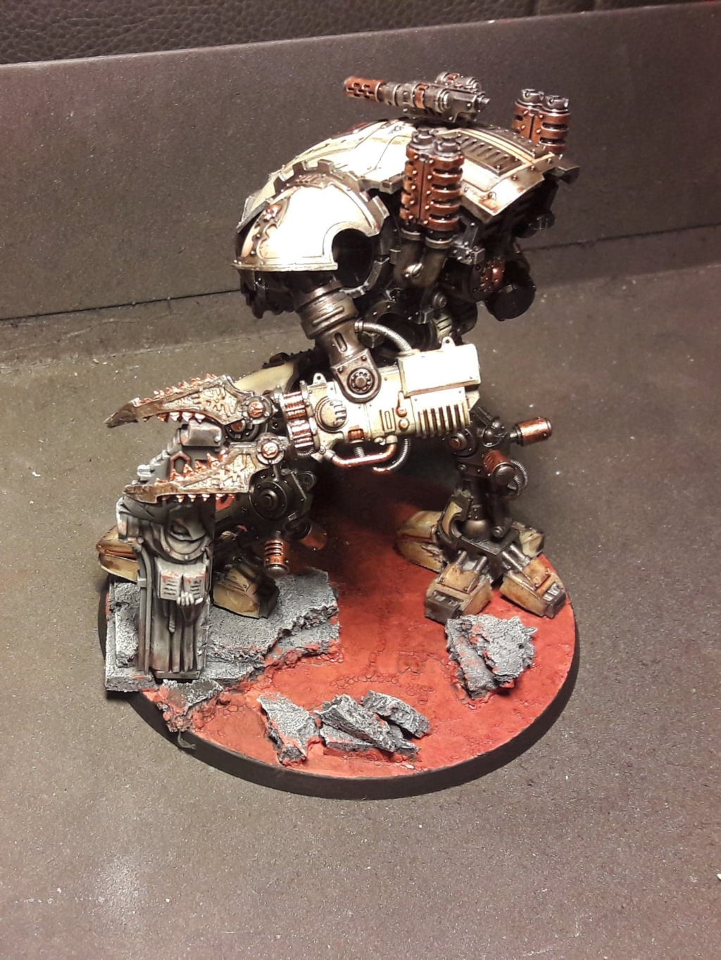 [FINI] (Wedge / Freelancer mechanicus)  duo Armiger warglaive   354 pts 50973510
