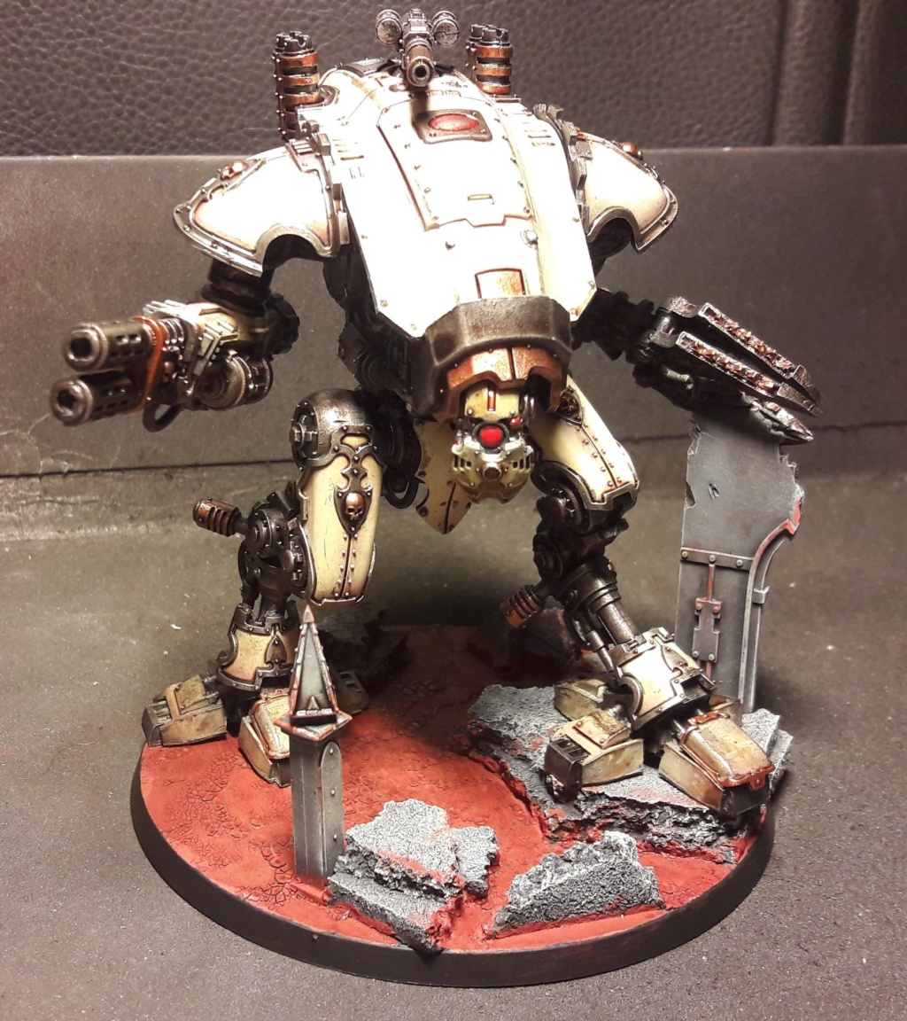 [FINI] (Wedge / Freelancer mechanicus)  duo Armiger warglaive   354 pts 51043311