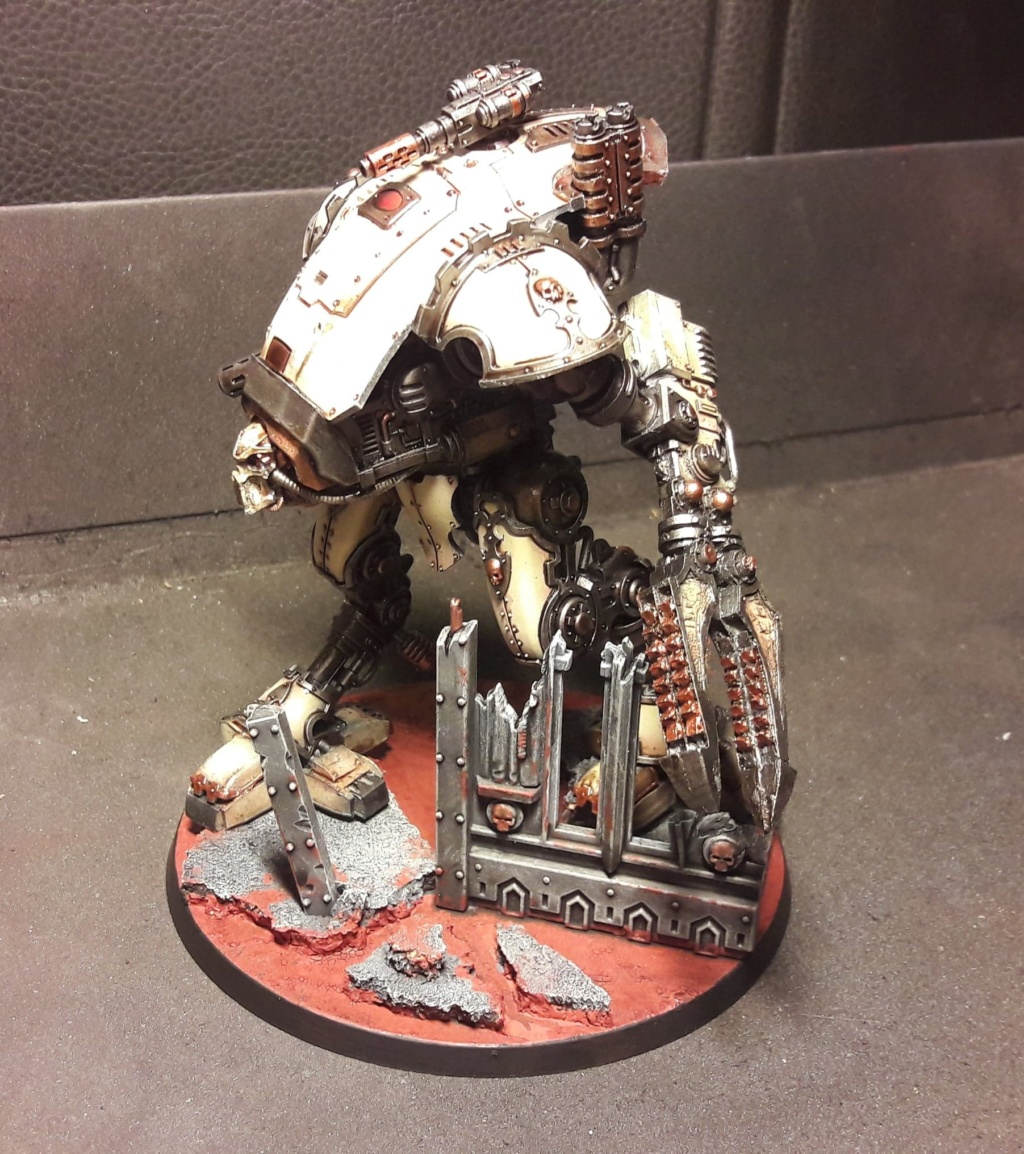 [FINI] (Wedge / Freelancer mechanicus)  duo Armiger warglaive   354 pts 51057911