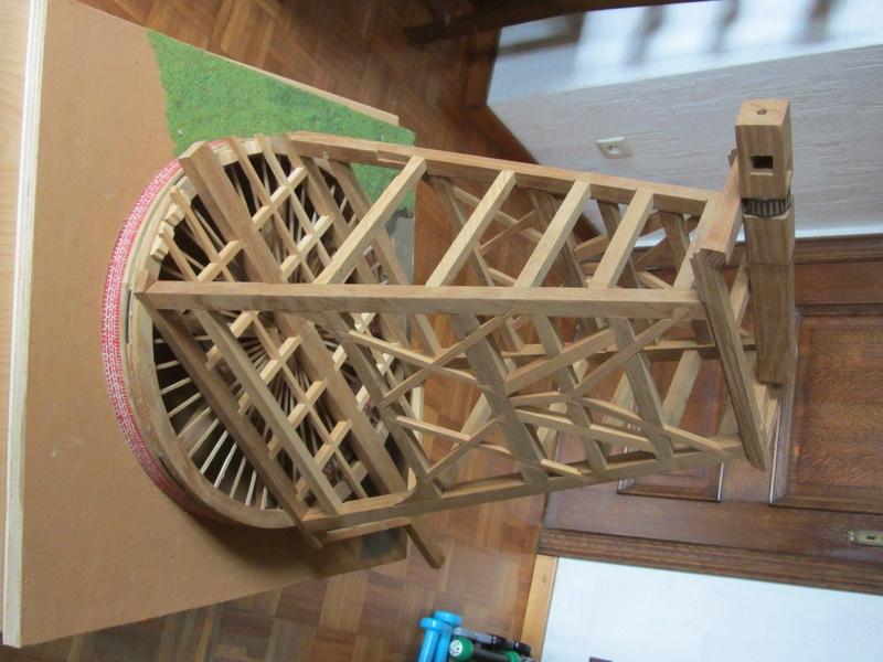 Paltrok : moulin à vent hollandais pour scier des bordages Img_3910