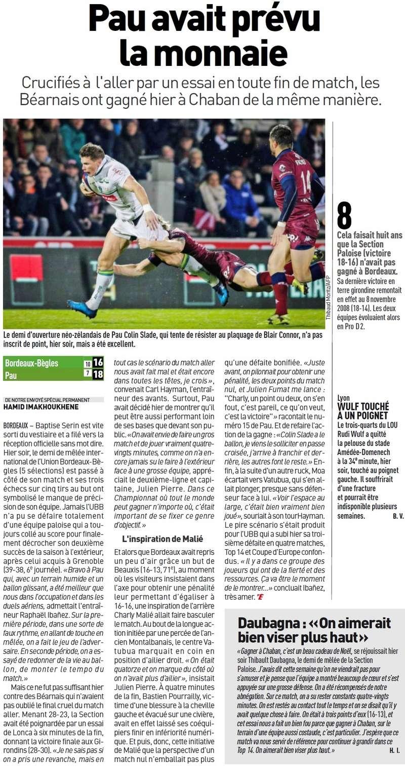 TOP14 - 14ème journée : UBB / Pau - Page 7 Sans_t92