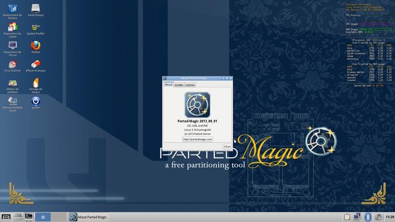 Tuto comment utiliser une clef Linux avec Clover  Parted10